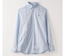 Two Button Krall Shirt Pyjama Stripes