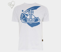 Boxy T-Shirt Arm & Cutlass White