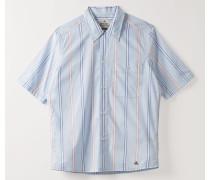 Fez Shirt Short Sleeve Shirt Pyjama Stripes
