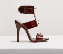 Sex Sandals Oxblood