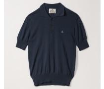 New Polo Knit Blue Navy