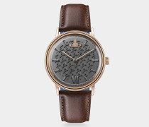 Turnmill Watch Rose/Brown