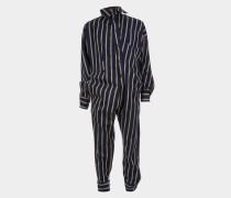 Alcoholic Jumpsuit Blue/Khaki