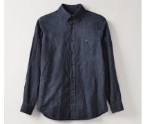 Two Button Krall Shirt Navy