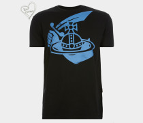 Boxy T-Shirt Arm & Cutlass Black