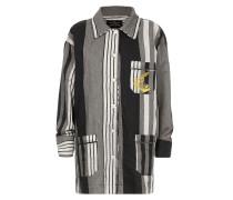 Pyjama Stripe Shirt Black