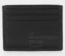 Heath Small Card Holder Black