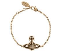 Jack Bas Relief Bracelet Gold Plated