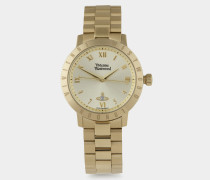 Gold Bloomsbury Watch