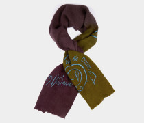 Save The Ocean Scarf Lavender