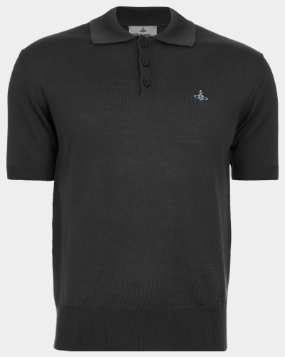 Knitted Polo Grey