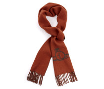 Classic Orb Scarf Orange