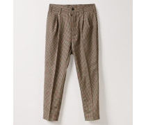 George Trousers English Check