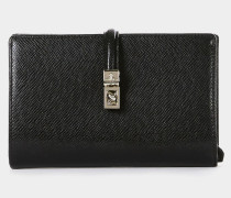 Sofia Medium Wallet With Strap Black