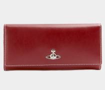 Matilda Long Card Holder Red