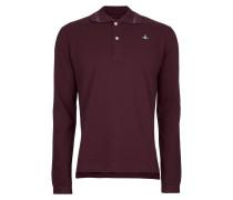New Polo Long Sleeve Burgundy