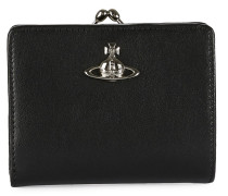 Matilda Wallet With Frame Pocket Black