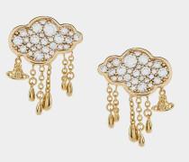 Shira Earrings Gold Tone