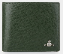 Kent Man Wallet With Coin Pocket Green