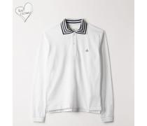 New Polo Long Sleeve White