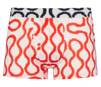 White Squiggle Boxer Shorts