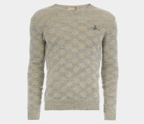 Diamonds Jumper Grey/Natural Mix
