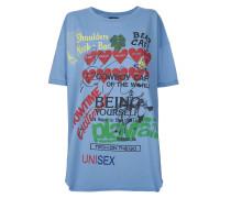 Organic Baggy T-Shirt Baby Blue