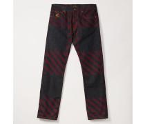 Harris Jeans Crini Check Print