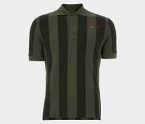 New Polo S/S Dark Green Stripes