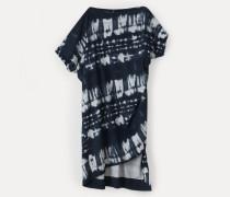 Palm Dress Black Tie-Dye