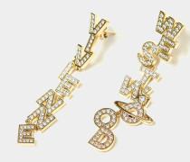 Soho Large Earrings Golden Tone