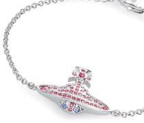 Jack Bas Relief Bracelet Silver Tone