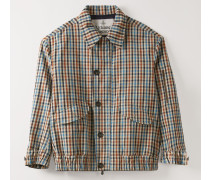 Savana Bomber Multicolour Peasant Check