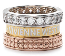 Kentish Ring Pink Gold Tone