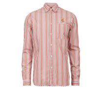 Striped Classic Shirt Orange
