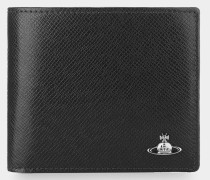 Kent Man Wallet With Coin Pocket Black