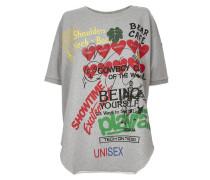 Baggy T-Shirt Grey Melange