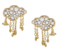 Shira Earrings Gold Tone