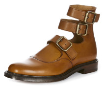Joseph Cheaney & Son Unisex Three Strap Boots Chestnut Tan