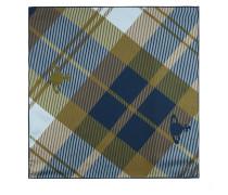 Tartan Pochette Dark Blue