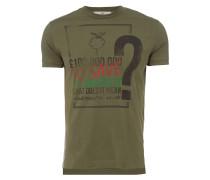 Rainforest Peru T-Shirt Olive Green