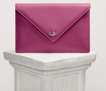 Victoria Envelope Clutch Pink