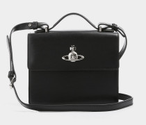 Matilda Medium Shoulder Bag Black