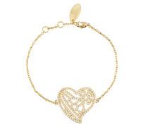 Guiseppa Bracelet Gold Tone