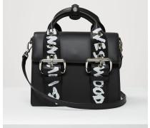 Alex Medium Handbag Black/Graffiti