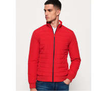 International Steppjacke rot
