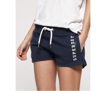 Leichte Track & Field Shorts blau