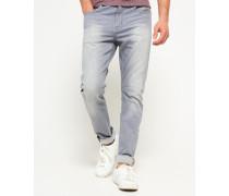 Slim Low Rider Jeans grau