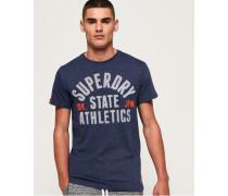 All Work Heritage Classic T-Shirt blau