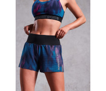 Locker geschnittene Active Shorts bunt